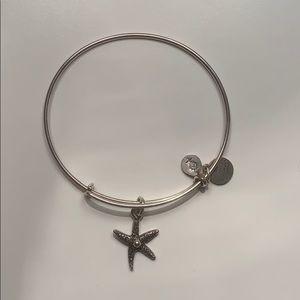 Alex & Ani star fish bracelet bangle